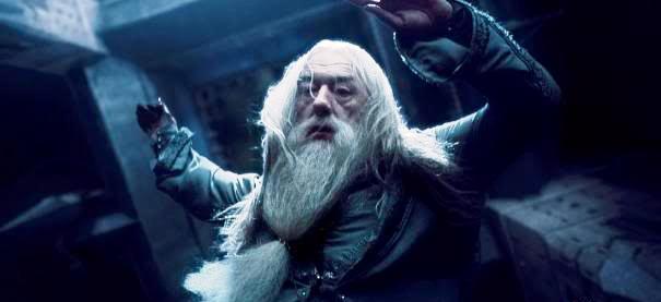 Dumbledore-falling
