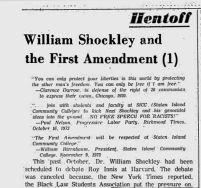 late november 1973 shockley