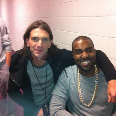 "America's Most Random Jobs: Meet Kanye West's ""White Jesus"""