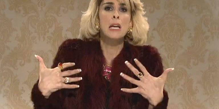 Sarah Silverman Plays Joan Rivers This Past Weekend OnSNL