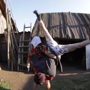 Watch: This Russian Farmer Dancing Duo's Music Video Is Bizarre And Wonderful