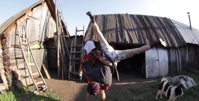 Watch: This Russian Farmer Dancing Duo's Music Video Is Bizarre AndWonderful