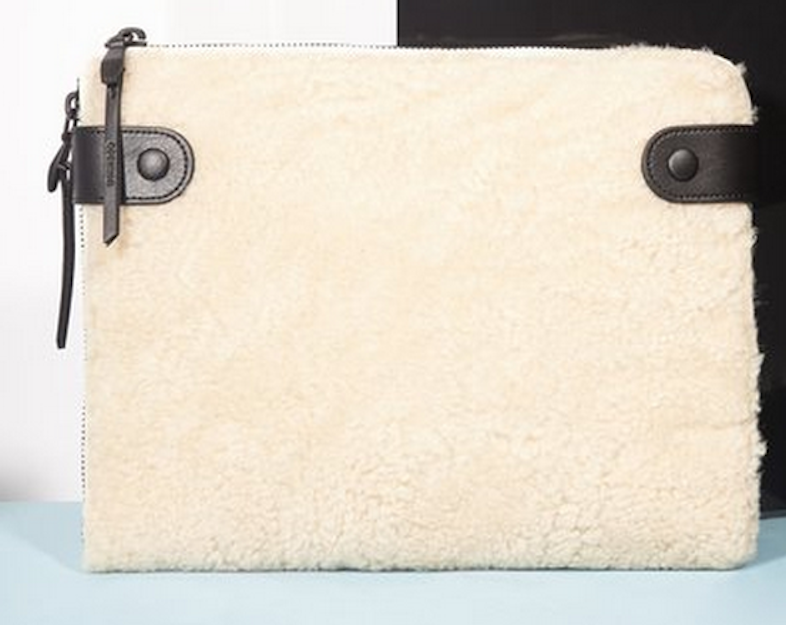 Opening Ceremony's Paloma Shearling Tech Clutch.