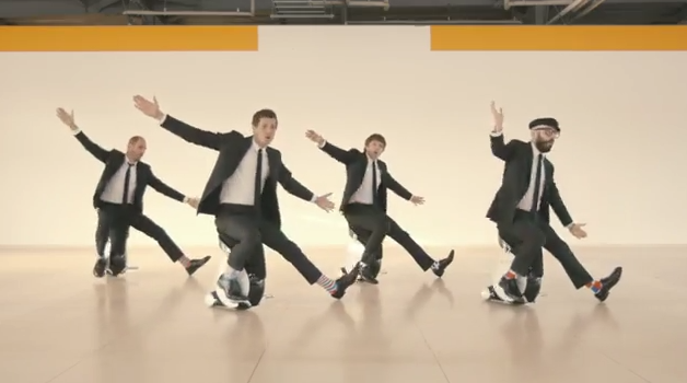 New OK Go Video Favors Unicycles OverTreadmills