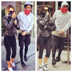 7 Fabulous Kimye Looks Recreated By Two Girl BFFs
