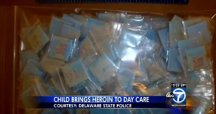 4-Year-Old Takes Her Mother's Heroin To Daycare Thinking It's Candy…But There's More ToIt