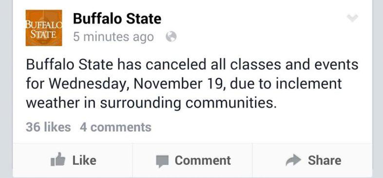 Facebook / Buffalo State