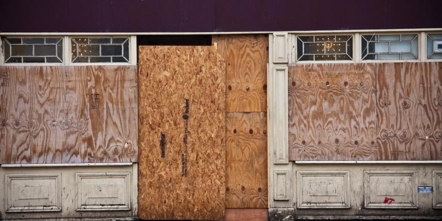 Ferguson Businesses Are Boarding Up Their Storefronts Because They Fear Riots And More Looting