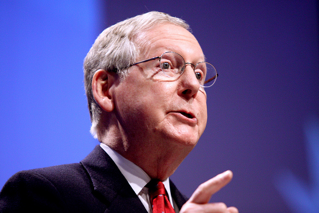 Mitch McConnell, Now Senate Majority Leader, Reminisces About The Awesome Things He And Obama Have DoneTogether