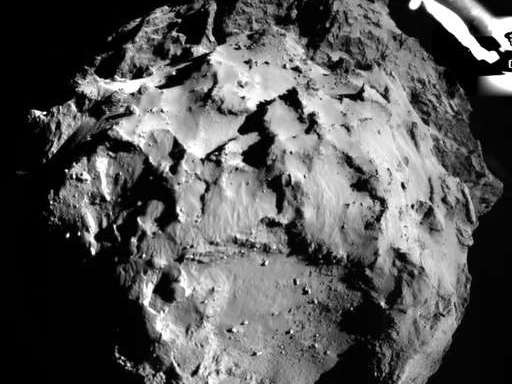 Behold! Here Are Up Close Images Of The First Comet Landing InHistory!