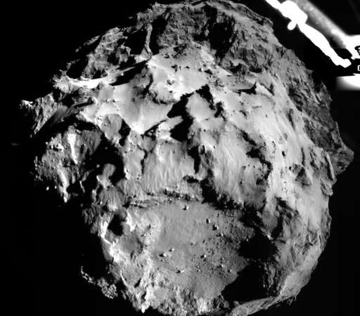 Behold! Here Are Up Close Images Of The First Comet Landing In History!