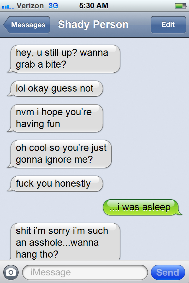 Classic Shady Booty Call Texts Every Girl Has Received At Least Once
