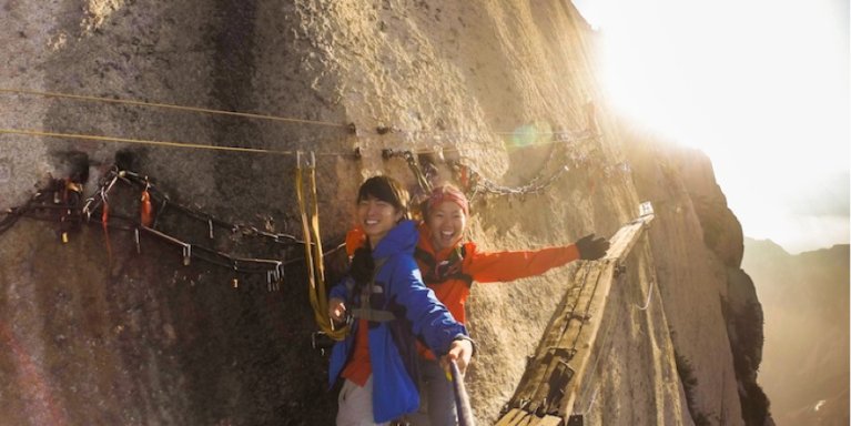 Tips On Climbing One Of The World's Most Dangerous Mountains, Mt.Hua