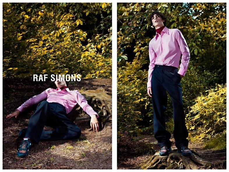 Raf Simons Fall/Winter 2013 campaign, shot by Willy Vanderperre.