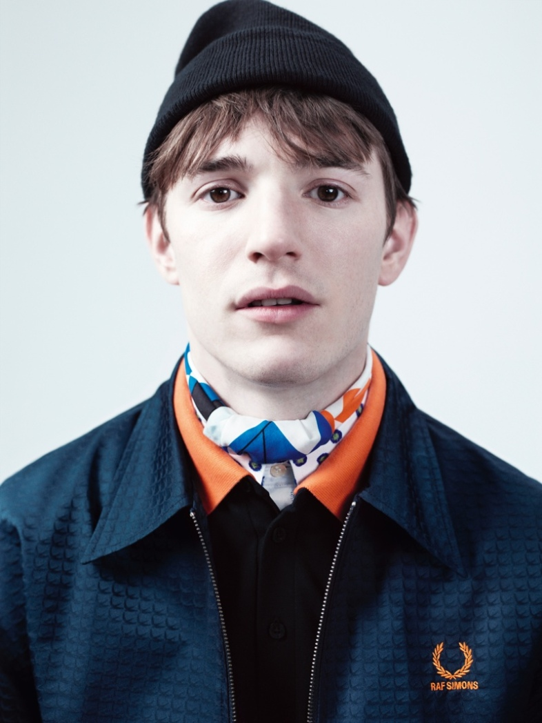 Raf Simons for Fred Perry campaign, spring/summer 2014, shot by Willy Vanderperre.