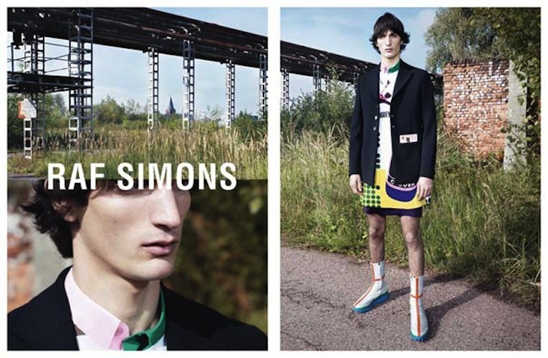 Raf Simons Spring/Summer 2014 campaign, shot by Willy Vanderperre.