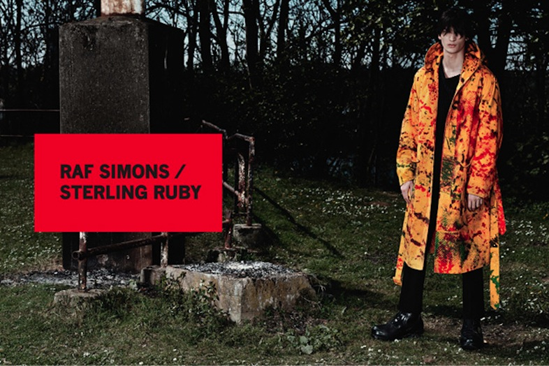 Raf Simons for Sterling Ruby, Fall/Winter 2014, shot by Willy Vanderperre.