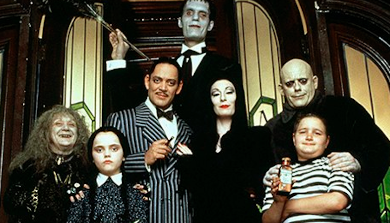 The Addams Family Irony