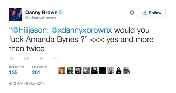 11 Great Tweets From Danny Brown Being Drunk And AnsweringQuestions