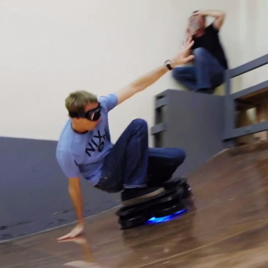 You Have To Watch Tony Hawk Ride The World's First Real Life Hoverboard