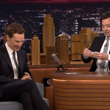 You Won't Be Able To Get Through This Hilariously Awkward Benedict Cumberbatch/ Jimmy Fallon Fail
