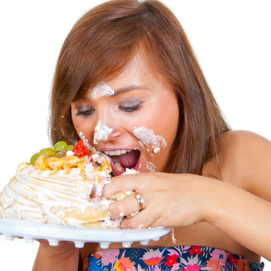 How To Eat A Cake