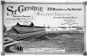 SI ferry postcard