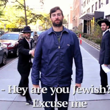 Video: 10 Hours Of Jewish Street Harassment Is The Perfect Parody