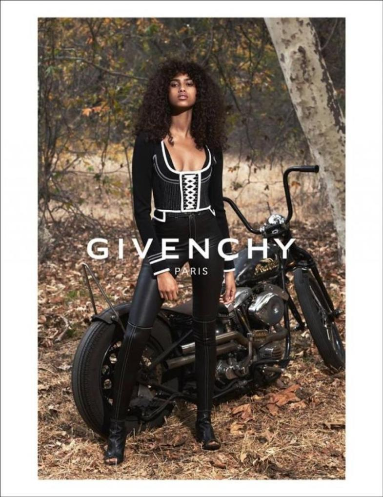 Givenchy's spring '15 campaign, shot by Mert Alas and Marcus Piggott.