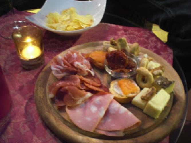 Tapas to accompany my Moscato
