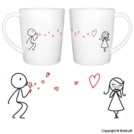 """""""From My Heart to Yours"""" Couple Coffee Mugs (Amazon)"""