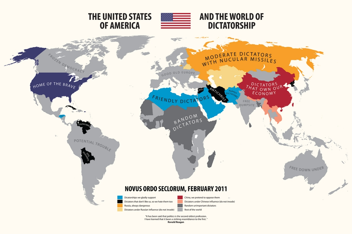 The United States of America and the World of Dictatorship
