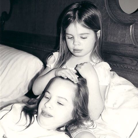 When this photo was taken I was 4 or 5 years old and taking care of my sister while she was in one of her spells.