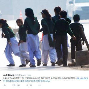 132 Children Killed By Taliban In Pakistani School Massacre
