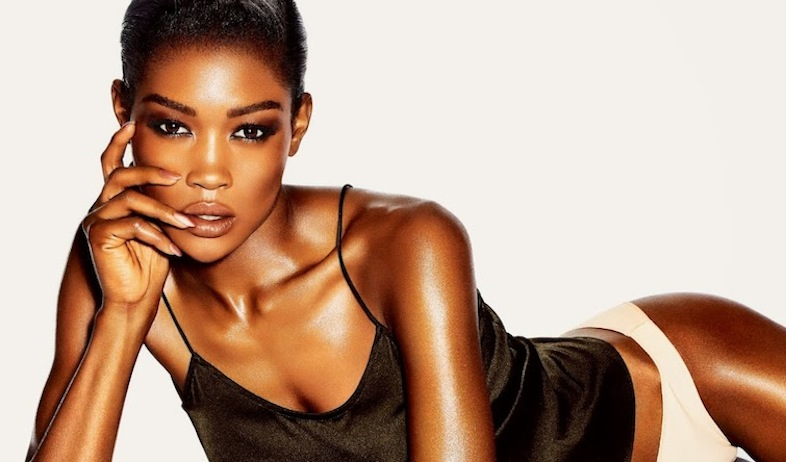 Betty Adewole for Tom Ford Beauty Spring/Summer 2014