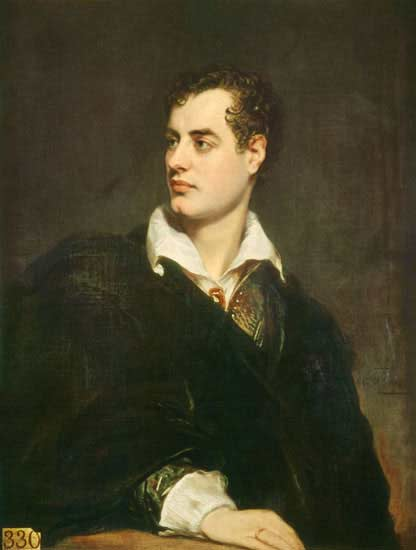 Lord Byron (Wikimedia Commons)