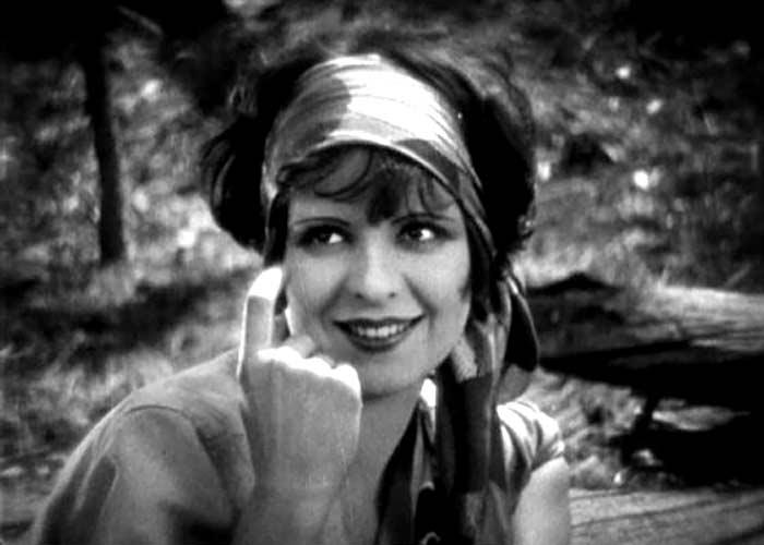 Clara Bow in Mantrap (1926).