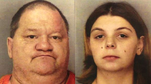 A Fat Guy And His Wife Starved Their Baby While Buffet Gorging At The GoldenCorral