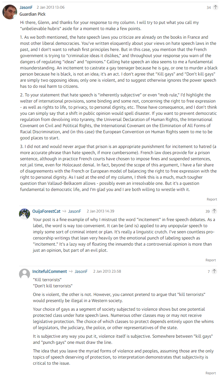 via Guardian Comments Section