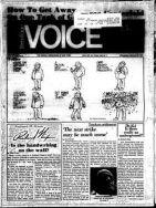 late feb 74 village voice
