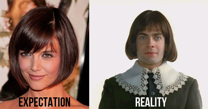 19 Hilarious Photos That Truly Demonstrate Expectations Vs.Reality