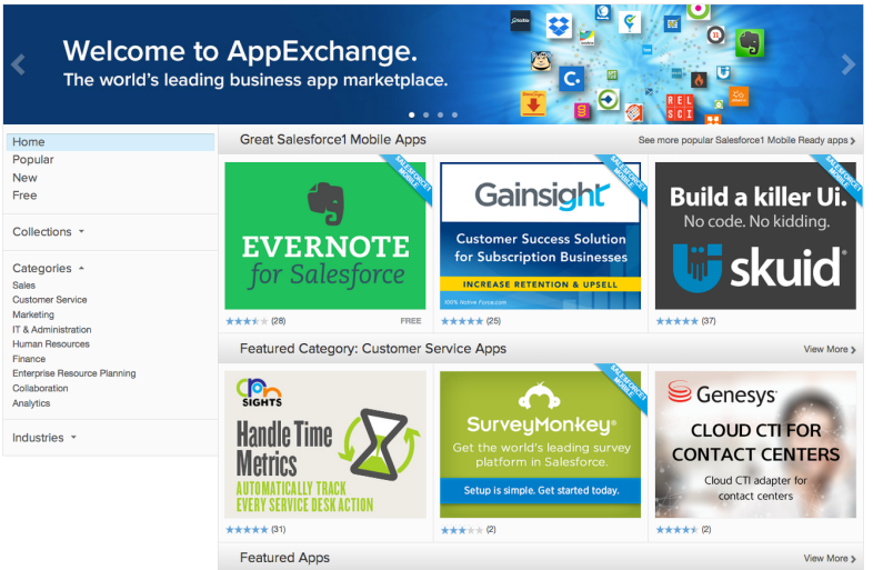 App Exchange
