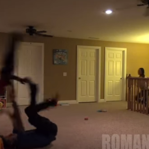 Watch: Wife Freaks Out After Husband Pretends To Kill Their Son