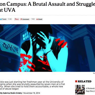 Another Rape Story Conveniently Gets Sidelined