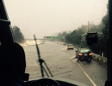 Live Updates: Images Of What The Monster Storm Descending On California Is Doing To The Bay Area Right Now