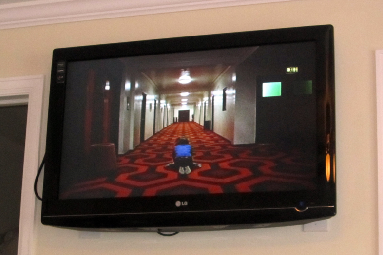 The Shining, playing at the Stanley Hotel. Wally Gobetz