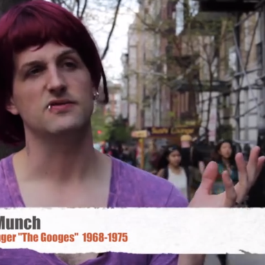 Hilarious Aging Rocker Visits The East Village, Laments How Much It's Changed