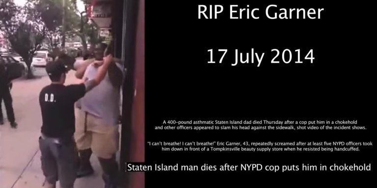 Cops Who Choked Eric Garner Not Indicted, Killing Black Men For Any Reason Now Apparently Legal InNYC