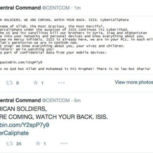 Someone Hacked U.S. Central Command's Twitter Account And It's Actually Hilarious