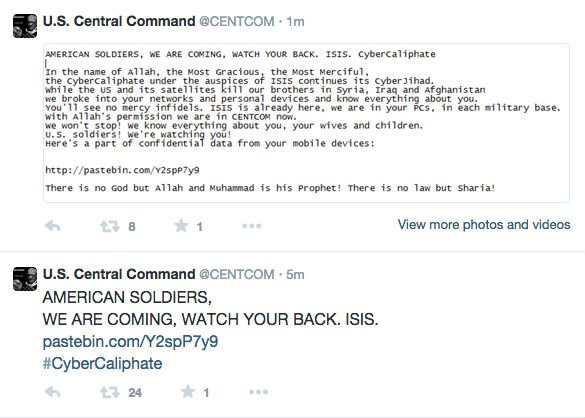 Someone Hacked U.S. Central Command's Twitter Account And It's ActuallyHilarious
